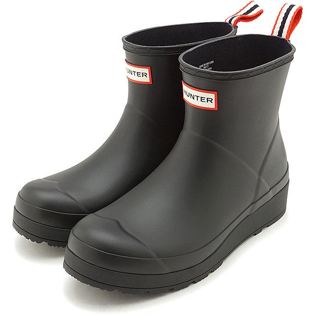 【楽天カードで12倍】ハンター HUNTER レインブーツ オリジナル プレイ ブーツ ショート W ORIGINAL PLAY BOOT SHORT [WFS2020RMA-BLK SS20] レディース 長靴 ショートブーツ BLACK ブラック系